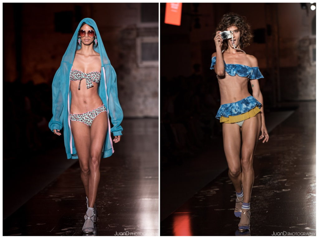 Desfile de la colección de bikinis y bañadores deComo un pez en el agua