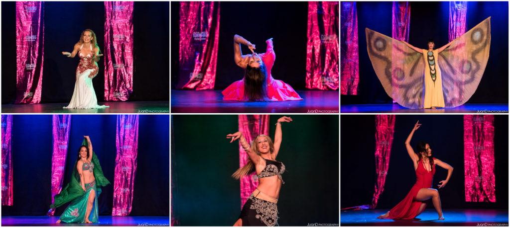 Reportaje fotográfico de bailarinas de Danza Oriental en el Festival Esencias 2017